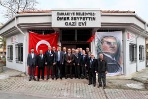 Başkan Hasan Can'dan, Ümraniye Belediyesi Ömer Seyfettin Gazi Evi'ne Ziyaret