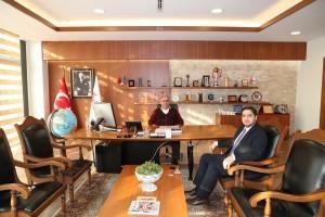 15 Temmuz Gazisi Orçun Şekercioğlu'ndan Başkan Hasan Can'a Ziyaret
