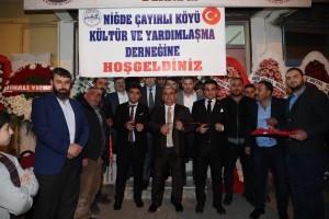 Başkan Hasan Can, Niğdeli Hemşehrilerle Bir Araya Geldi