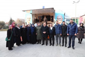 Başkan Hasan Can'dan AK Noktaya Ziyaret