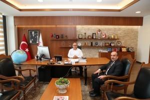 Cemil Meriç Mahalle Muhtarı Murat Yarar'dan Başkan Hasan Can'a Ziyaret