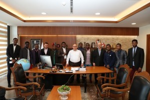 İstanbul Aziz Mahmut Hüdâyi Vakfı'ndan Başkan Hasan Can'a Ziyaret