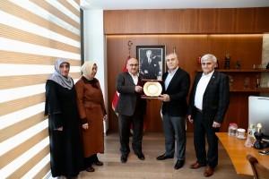 Yeşilay Ümraniye Şubesi'nden Başkan Hasan Can'a Ziyaret