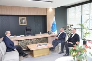 Başkan Hasan Can'dan 29 Mayıs Üniversitesi Mütevelli Heyeti Başkanı Dr. Tayyar Altıkulaç'a Ziyaret