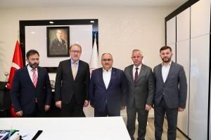 Başkan Hasan Can'dan Ümraniye İlçe Millî Eğitim Müdürlüğüne Ziyaret