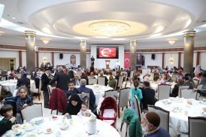 Ümraniye Belediyesi Şehit Yakınları ve Gazileri Bir Araya Getirdi