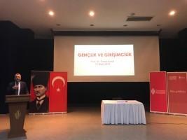 Akademi Genç Bu Hafta Gazeteci- MÜSİAD 3. Dönem Genel Başkanı Doç. Dr. Ömer Bolat'ı Ağırladı