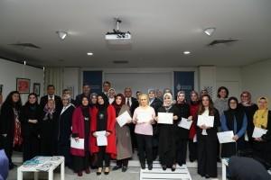 Ümraniye'de Milli ve Yerli Temalı Yıl Sonu Sergisi Açıldı