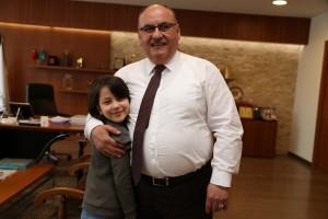 AK Parti Ümraniye İlçe Kadın Kolları Başkan Yardımcısı Nevin Aşçı'dan Başkan Hasan Can'a Ziyaret