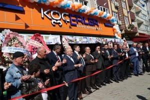 Başkan Hasan Can Ademyavuz Mahallesi Koçerler Hipermarket Açılışına Katıldı
