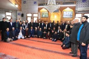 Başkan Hasan Can Sabah Namazı Buluşmalarında Gamame Camii Cemaatiyle Bir Araya Geldi