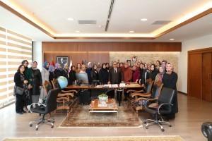 Ümraniye Kent Konseyi Kadın Meclisi'nden Başkan Hasan Can'a Ziyaret