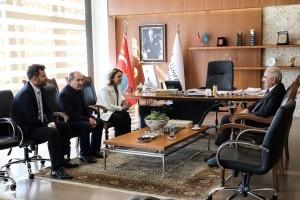 Başkan İsmet Yıldırım AK Parti İstanbul Milletvekili Doç. Dr. Emine Sare Aydın Yılmaz'ı Ağırladı