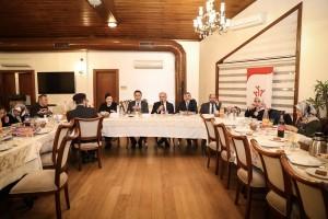 Başkan İsmet Yıldırım Koruyucu Ailelere Yönelik Düzenlenen Toplantı Programına Katıldı