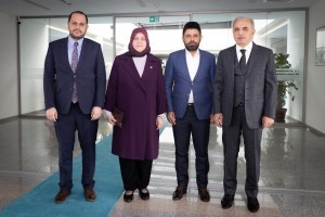 AK Parti İstanbul Milletvekillerinden Başkan Yıldırım'a Ziyaret