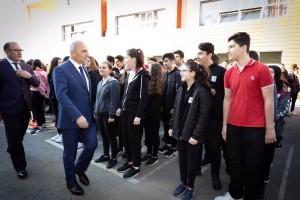 Başkan İsmet Yıldırım Haftaya Öğrencilerle Bir Araya Gelerek Başladı