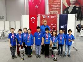 Ümraniye Belediyesi Gençlik ve Spor Kulübü Satranç Takımından Bir Şampiyonluk Daha!