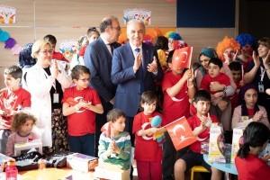 Başkan İsmet Yıldırım'dan 23 Nisan'da Anlamlı Ziyaret