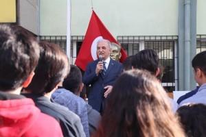 Başkan İsmet Yıldırım Öğrencilerle Bir Araya Geldi