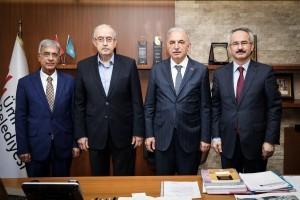 İstanbul 29 Mayıs Üniversitesi Mütevelli Heyeti'nden Başkan İsmet Yıldırım'a Ziyaret