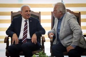 Yeşilçam'ın Duayen İsmi Tamer Yiğit'ten Başkan İsmet Yıldırım'a Ziyaret