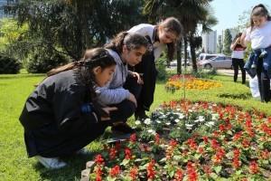 Ümraniyeli Öğrenciler Botanik Bahçesinde Keşfe Çıktı