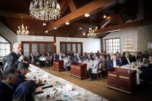 Başkan İsmet Yıldırım Doğu ve Güneydoğu Dernek Başkanlarıyla Bir Araya Geldi