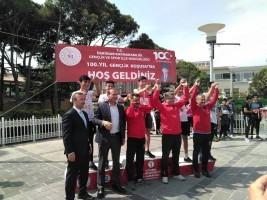 100. Yıl Gençlik Koşusu Yarışlarının Şampiyonu Ümraniye!