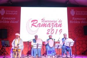 Kerkük İlahi Grubu Ramazan Etkinlikleri'nde Ümraniyelilerle Buluştu