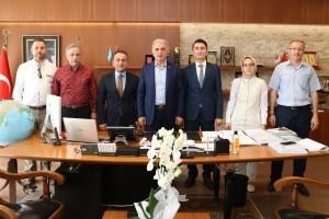 BEM-BİR-SEN 7 Nolu Şube Yönetimi'nden Başkan Yıldırım'a Ziyaret