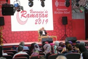 Yavuz Bahadıroğlu Ramazan Etkilik Alanında Ümraniyelilerle Bir Araya Geldi