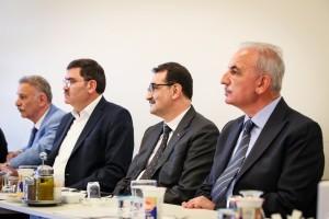 Enerji ve Tabii Kaynaklar Bakanı Fatih Dömez'den Ziyaret