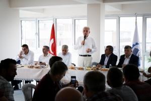 Başkan Yıldırım, KADOSAN Yönetim Kurulu Üyeleri ile Bir Araya Geldi