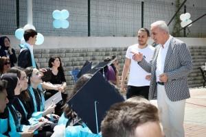 Başkan Yıldırım, Kültür ve Sanat Festivali'nde Gençlerle Buluştu