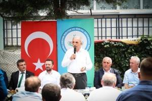 Başkan Yıldırım Rize ve Bitlis'li Hemşehriler İle Bir Araya Geldi