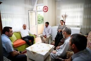 Başkan Yıldırım'dan Vatandaşlara Hasta Ziyareti