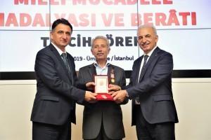 Kıbrıs Gazilerine 'Milli Mücadele Madalyası ve Beratı' Verildi