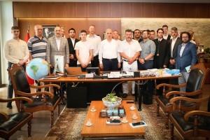 Başkan Yıldırım, Macaristan'dan Gelen Misafirleri Ağırladı