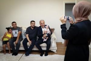Başkan Yıldırım, Ev Ziyaretlerine Devam Ediyor