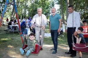 Başkan İsmet Yıldırım Giresunlu Hemşehrilerle Piknikte Buluştu