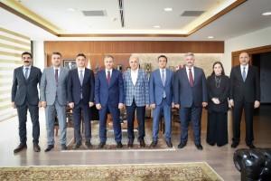 Başkan Yıldırım İstanbul Valisi Ali Yerlikaya'yı Makamında Ağırladı