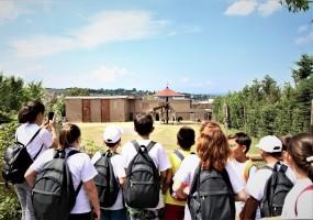 Bilge Çocuklar, Darıca Hayvanat Bahçesi'ni Gezdi