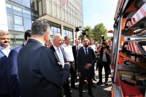 Ümraniye'de 7.2 Şiddetinde Deprem Tatbikatı