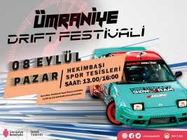 Drift Festivali Ümraniye'de!