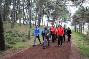 Başkan Yıldırım, Millet Bahçesi'nde Gençlerle Spor Yaptı