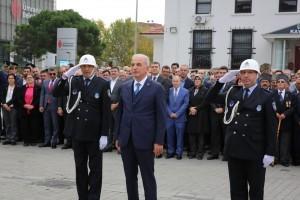 Belediye Bahçesinde 29 Ekim Töreni Düzenlendi