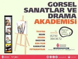 Görsel Sanatlar ve Drama Akademisi'nde Eğitimler Yakında Başlıyor