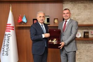 Bosna Hersek Orman ve Su İşleri Bakanı Salkan Merdzanic'den Başkan İsmet Yıldırım'a Ziyaret