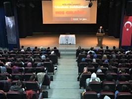 Yazar Prof. Dr. Nurullah Genç Gündem Sohbetleri'ne Konuk Oldu