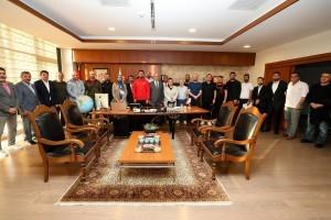 Amatör Kulüplerden Başkan Yıldırım'a Teşekkür Ziyareti